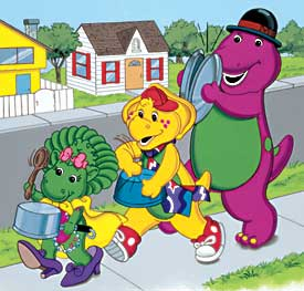 Pin barney and friends bj on pinterest