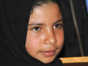 Nojud Mohammed Ali, de 8 años fue casada por su padre por falta de dinero, pero consiguió divorciarse.